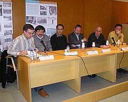 Presentació pública del Centre de Recerques i Estudis Mogoda (CREM) amb motiu de la inauguració de l'exposició L'època de Lluis Companys 1882-1940, organitzada per la Coordinadora de Centres d'Estudis de Parla Catalana (CCEPC)