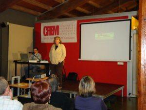 Assumpta Montellà, presentant el seu llibre El setè camió