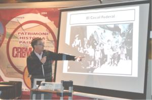 Ernest Vilàs Galindo, historiador i vicepresident del CREM