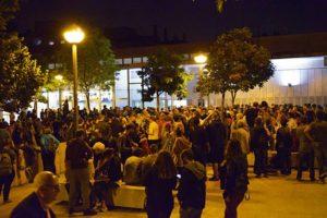 El Casal Cívic de Santa Perpètua de Mogoda al tancament de la jornada del referèndum de l'1-O / Foto: L'Informatiu Municipal