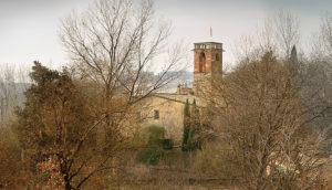 Església de Santa Maria l'Antiga, Santiga. Foto: Josep Ponsa Vilatersana