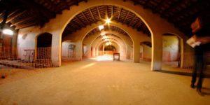 Sala de la Planta pis de la nau gran del Vapor Arañó, pendent de rehabilitació. Imatge: Arxiu Municipal de Santa Perpètua de Mogoda (AMSPM)